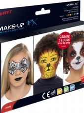 Aqua Based Body And Face Paint - Animal Kit
